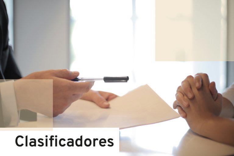 Oferta empleo: Clasificadores