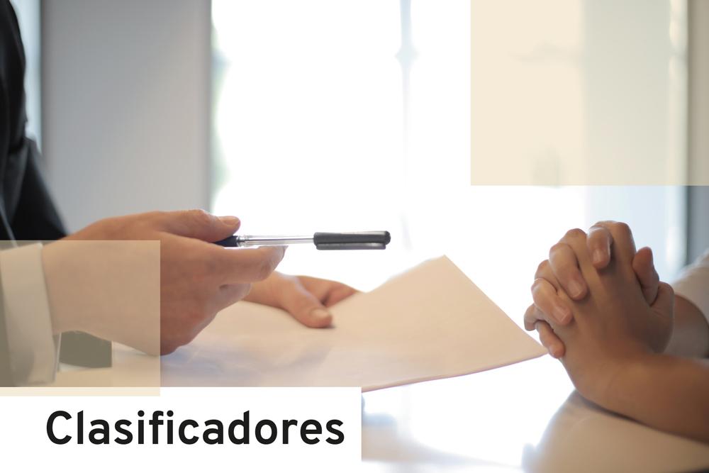 OFERTA DE EMPLEO-CLASIFICADORES