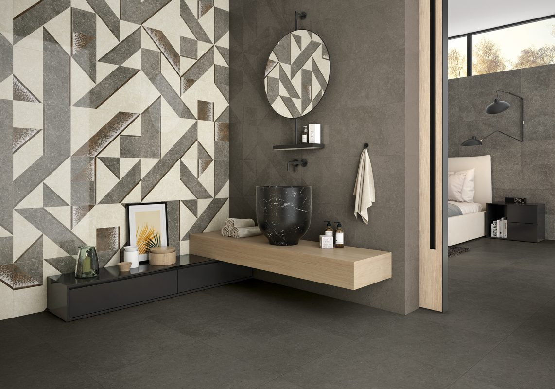 AMBIENTE_VALLETTA MIX-D GREY 35X90